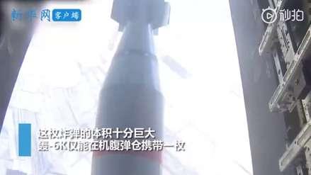 """China probó con éxito su versión de """"la madre de todas las bombas"""" [VIDEO]"""