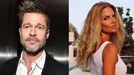 La reacción de Brad Pitt tras ser vinculado con la modelo española Makoke