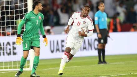 Emiratos Árabes Unidos y Baréin empataron 1-1 en la inauguración de la Copa Asiática 2019