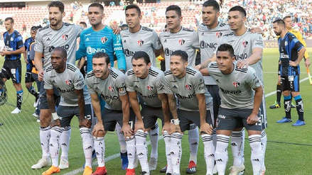 Debut con triunfo: Anderson Santamaría fue titular en victoria del Atlas por 2-1 ante Querétaro