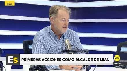 Jorge Muñoz presentará proyecto al Congreso para penalizar la acumulación de faltas de transportistas