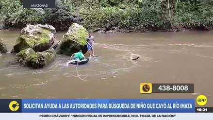 Un niño de 8 años desapareció tras caer al río Imaza en Amazonas