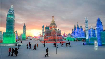 China   El espectacular 'Festival de Hielo y Nieve' de Harbin en Imágenes