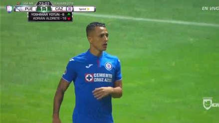 Yoshimar Yotún: así fue el debut con el Cruz Azul en la Liga MX