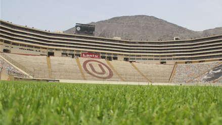 Así está la cancha del Estadio Monumental previo a la 'Noche Crema 2019'