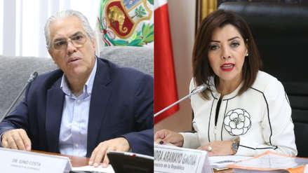 Alejandra Aramayo y Gino Costa discutieron en vivo por cuestionamientos a Chávarry