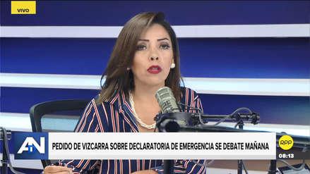 Aramayo pide a Tubino que FP priorice denuncias contra Chávarry en el Congreso