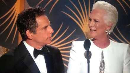 Globos de Oro 2019: Ben Stiller fue víctima de una cruel broma al presentar premio