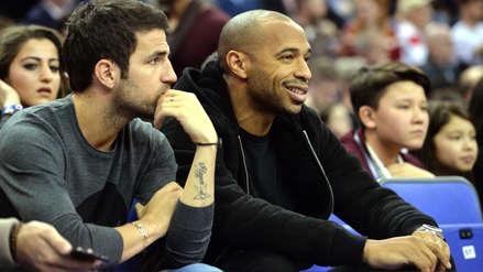 Cambia de camiseta: Cesc Fábregas reforzaría las filas del Mónaco de Thierry Henry