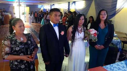 Internos del penal de Cusco unieron sus vidas en matrimonio civil