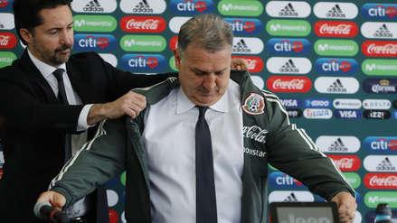 Gerardo Martino tras ser presentado como técnico de México: