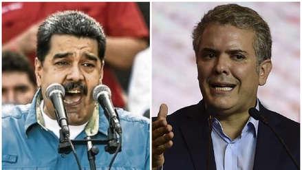 Maduro arremete contra Iván Duque: Es