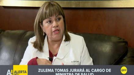 Zulema Tomás será la nueva ministra de Salud