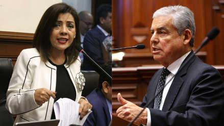 """Alejandra Aramayo a César Villanueva: """"Ha sido un mediocre congresista, no puede ser un mediocre premier"""""""