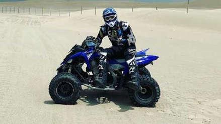 Paolo Guerrero vive así la realización del Rally Dakar