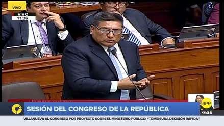 Mario Mantilla lanzó duras críticas a la bancada Liberal y generó reacciones en el Pleno