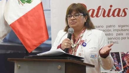 Perfil | Zulema Tomas, la médico que pasa del Instituto Nacional del Niño a la jefatura del Ministerio de Salud