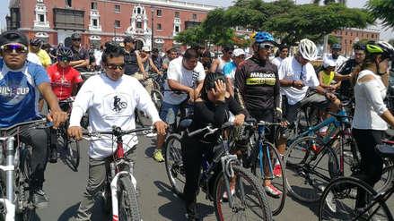 Trujillo | Protestan contra la inseguridad vial tras muerte de niño ciclista