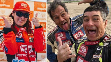 Rally Dakar 2019: Fernanda Kanno se detuvo en medio del desierto para auxiliar a Aníbal Aliaga