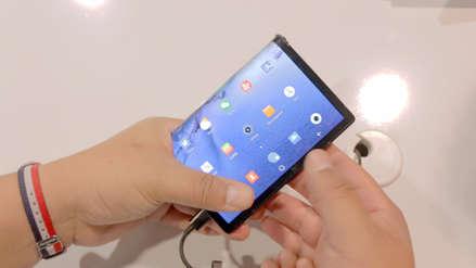 CES 2019: Así funciona el FlexPai, el primer smartphone con pantalla plegable del mundo