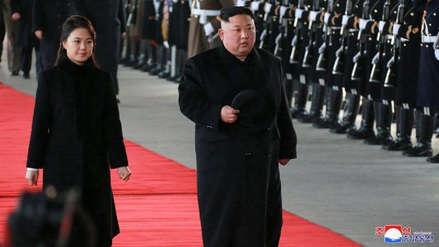 Kim Jong-un llegó a China para reunirse con Xi Jinping
