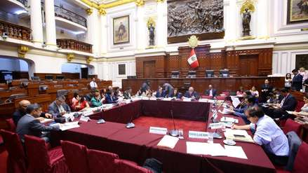 Comisión de Constitución aprobó informe técnico sobre conformación de nuevas bancadas