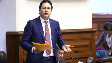 Daniel Salaverry presentará hoy su renuncia a Fuerza Popular