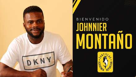 Johnnier Montaño se convirtió en nuevo jugador de la Academia Cantolao