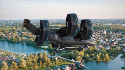 Un socio de Uber presenta su prototipo de taxi volador en el CES 2019