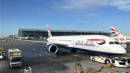 La presencia de un dron paralizó nuevamente los vuelos en el aeropuerto de Londres