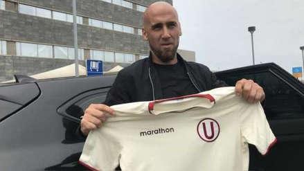 Guillermo Rodríguez llegó a Lima para unirse a la pretemporada de Universitario de Deportes