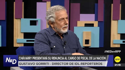 Gustavo Gorriti: Ni Gálvez ni Rodríguez deben ser fiscal de la Nación interino