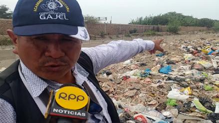 Chiclayo: vecinos viven rodeados de basura hace más de tres meses