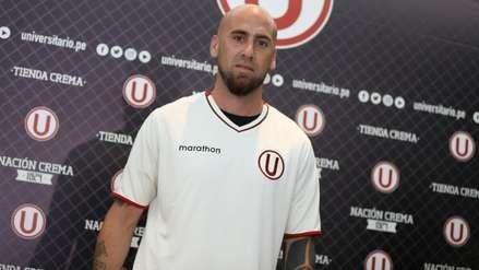 Guillermo Rodríguez fue presentado como nuevo fichaje de Universitario de Deportes