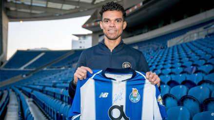 Pepe fichó por el Porto y se reencuentra con Iker Casillas