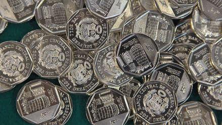 Banco Central: Este 2019 se acuñarán 305 millones de monedas