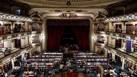 Así es la majestuosa librería El Ateneo, elegida la más bella del mundo