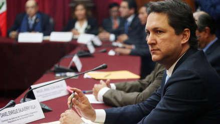 Daniel Salaverry presentó su carta de renuncia a Fuerza Popular