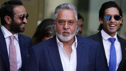 """Polémico multimillonario es declarado """"delincuente económico en fuga"""" por tribunal de la India"""