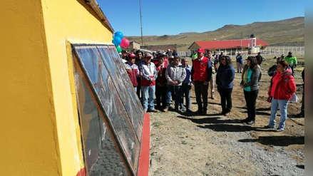 'Casitas calientes' para las familias que viven en zonas altoandinas