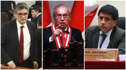 Pedro Chávarry confirmó que denunció al fiscal José Domingo Pérez y al juez Concepción Carhuancho