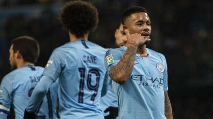 Manchester City humilló por 9-0 a Burton Albion en la Carabao Cup