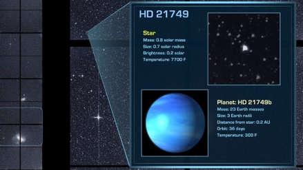 La NASA descubrió un nuevo exoplaneta a 53 años luz de la Tierra