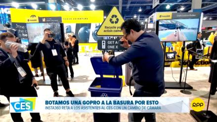 Tiramos nuestra cámara a la basura en el CES 2019 y te explicamos la razón