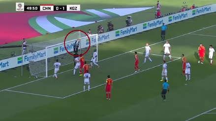 El insólito blooper en la Copa Asia que terminó en gol de China [VIDEO]