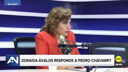 """Zoraida Ávalos responde a Pedro Chávarry sobre marchas: """"Fue una salida voluntaria del pueblo"""""""