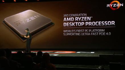 CES 2019 | AMD presentó una prueba de la tercera generación de los procesadores Ryzen