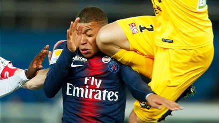 Con Neymar y Mbappé: PSG fue eliminado de la Copa de Francia por el Guingamp