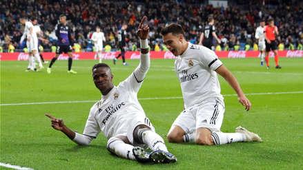 Real Madrid goleó 3-0 a Leganés por los octavos de final de la Copa del Rey