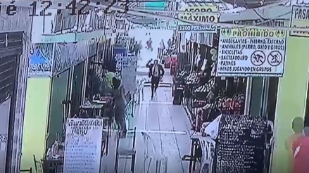 Feminicidio en el Callao | Video muestra el intento de fuga del sujeto que asesinó a su expareja